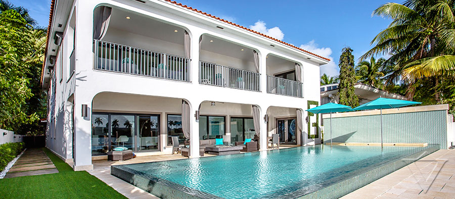 Villa Vacation Als Near The Beach In Miami Surfside Florida