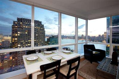 Luxury furnished Apartment Rentals in Jersey city waterfront facing Manhattan, New York