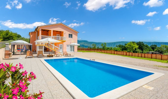 Croatia Villa Vacation Rentals Istria Labin Smilovici 3 Bedrooms Private Swimming Pool With Beautiful View 1