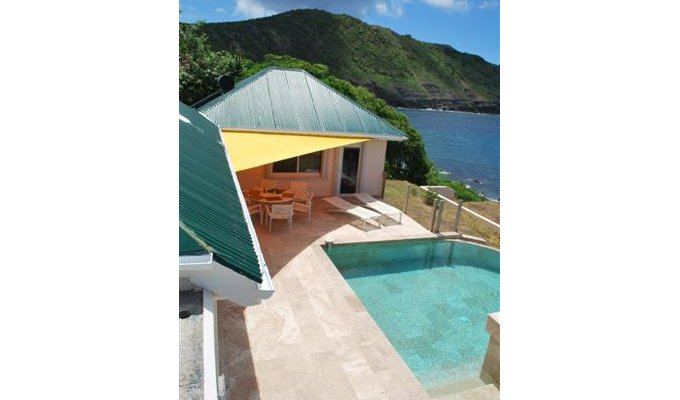 Infinity Pool with LED light- Private Sunning Beach - Anse des Cayes - St Barts - FWI