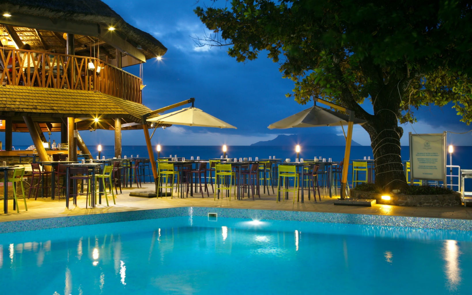Seychelles Beach Front Resort Mahe Island