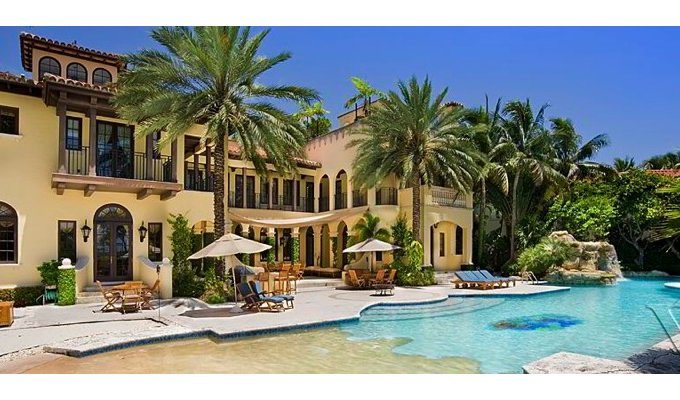 Miami Beach Luxury Villa Vacation Rental Near Star Island