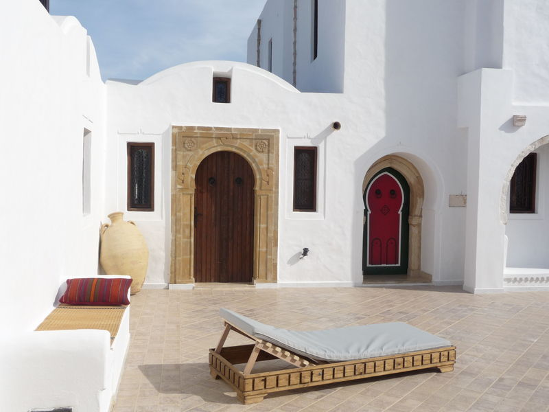 Guest house of charm djerba tunisia for Decoration maison tunisienne