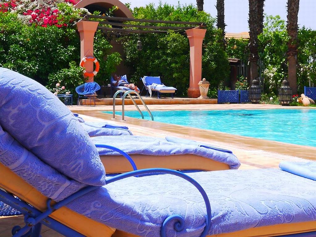 ... View Pool Of Luxury Villa In Marrakech ...