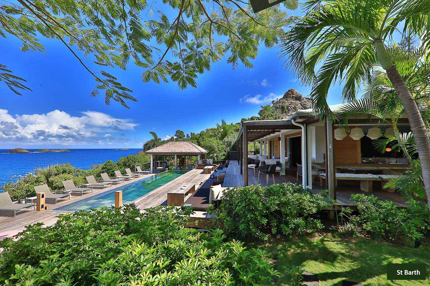 St Barths Holiday Rentals Seafront Luxury Villa Vacation