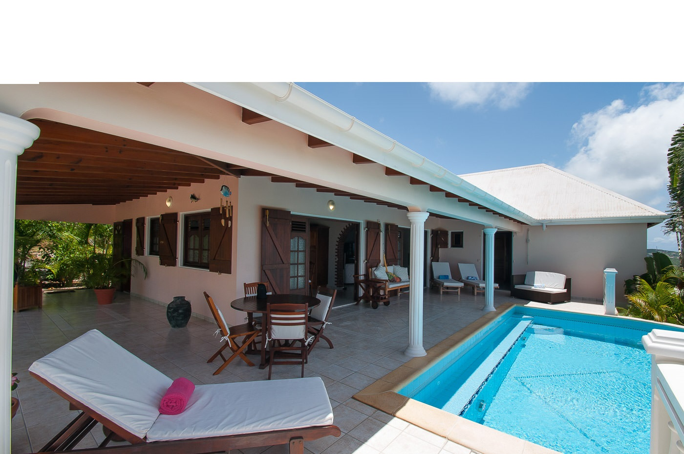Seaview St Barts Luxury Villa Vacation Rentals with private pool - Colombier - FWI