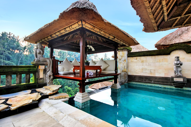 Indonesia Bali Resort Vacation Rentals Villa Terrace One Bedroom With Private Pool In A Luxury Complex In Ubud