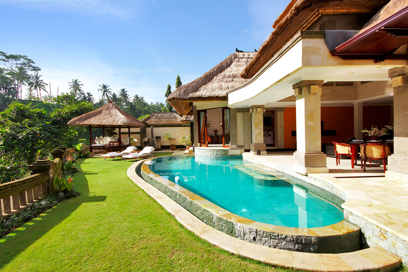Indonesia Bali Resort Vacation Rentals Royal Villa 2 Bedroom With Private Pool In A Luxury Complex In Ubud