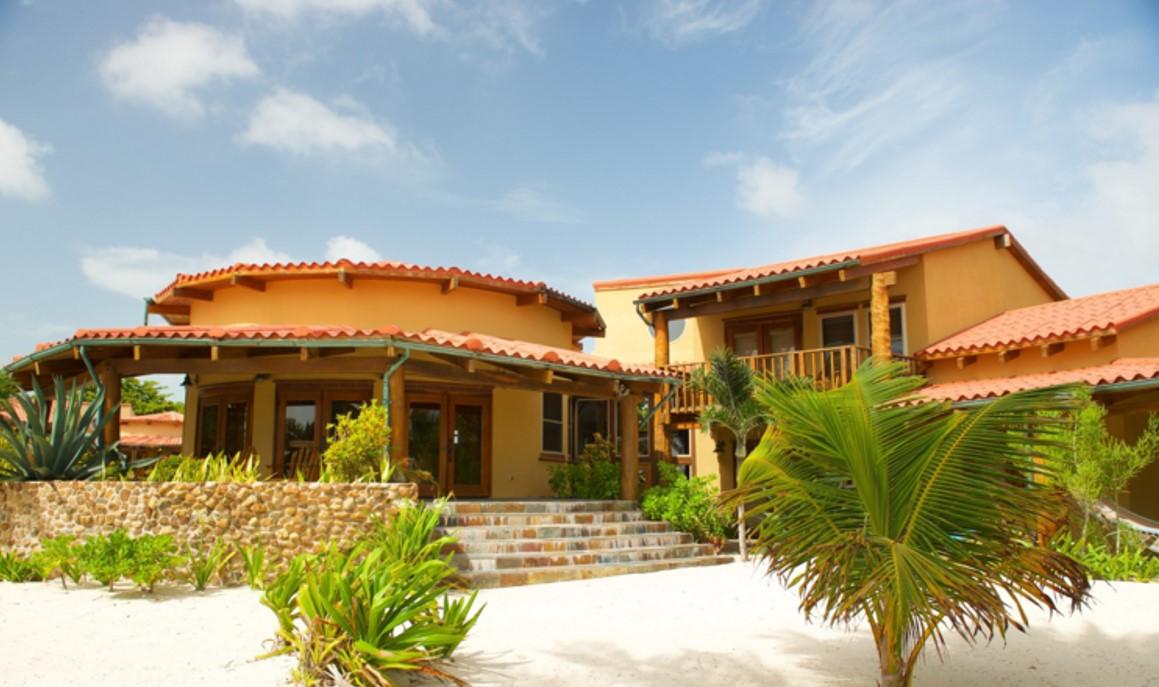 belize villa vacation rentals 3 bedrooms beachfront at ambergris