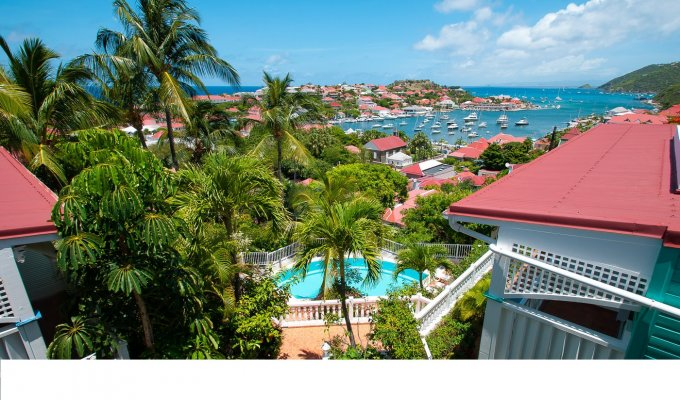 St Barts Apartment Rentals Overlooking Gustavia harbour - FWI