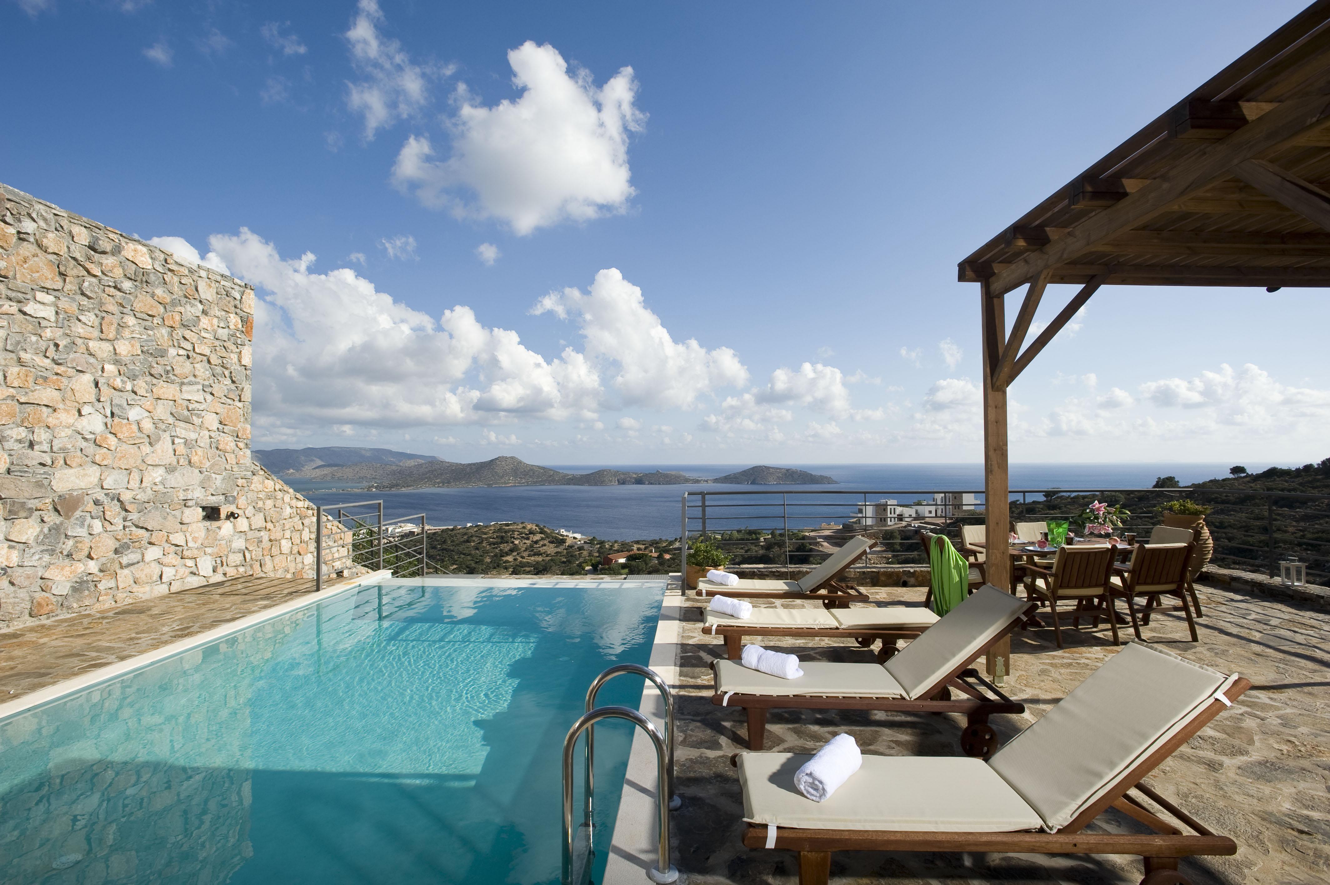 Greece Villa Vacation rentals Crete Elounda