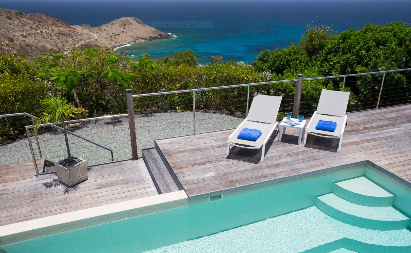 Seaview St Barts Luxury Villa Vacation Rentals with private pool - Devet - FWI
