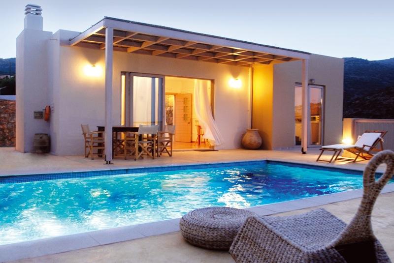 Greece Villa Vacation Rentals Private Pool Aghios Nikolaos Crete