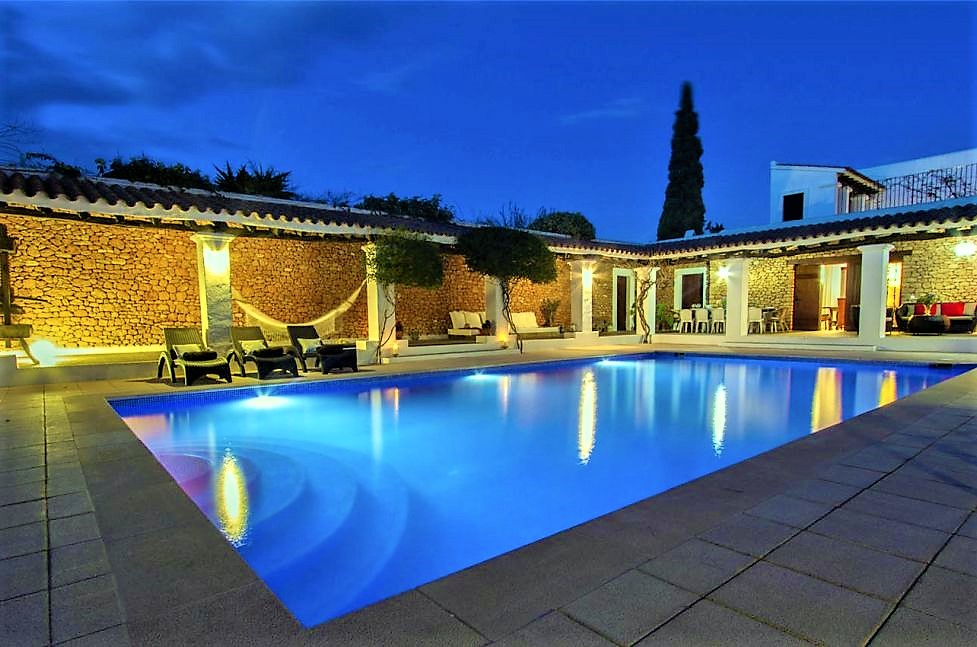 Ibiza luxury holiday villa rentals private pool balearic islands spain