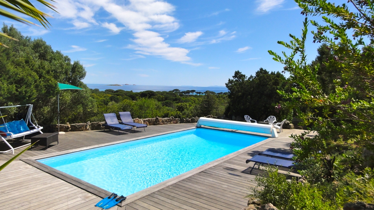 Porto Vecchio Villa Vacation Rentals 700m From Palonbaggia Beach Corsica,  Shared Pool ...