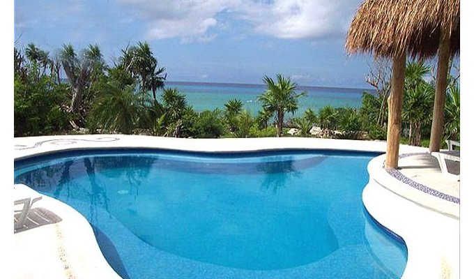 Villa cozumel vacation rentals private pool yucatan mayan riviera for Vacation rentals with private swimming pool