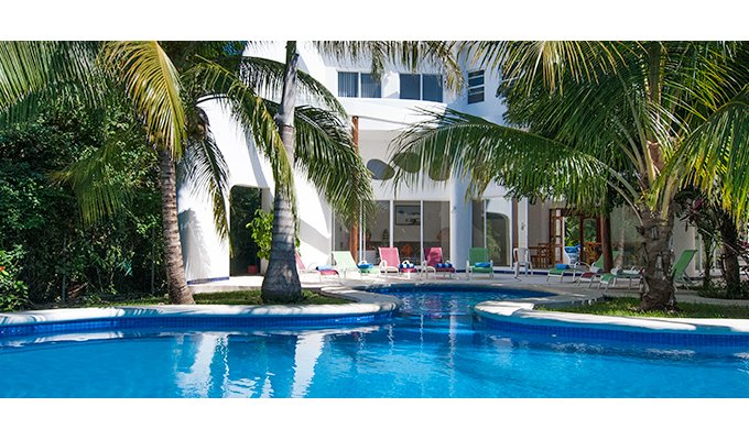 Cozumel Beach House Vacation Als With Private Pool And Staff Yucatan Mayan Riviera
