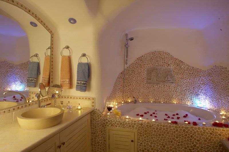 ... Luxury Santorini Villa Rental With Heated Indoor Swimming Pool And Sea  View ...