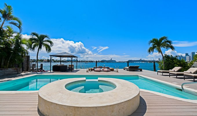 Vacation Rental Villa Miami Key Biscayne Florida